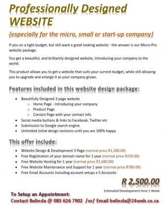 Business Website Special
