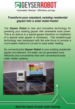 Geyser Robot systems for sale