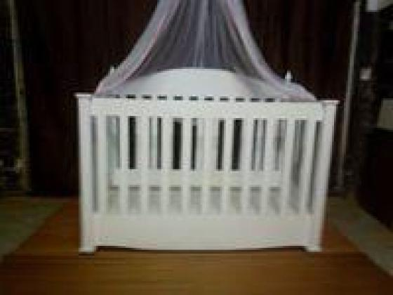 Handcrafted solid wooden cot-huge discount-factory demo