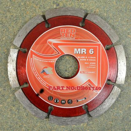 MR-6 MORTAR RACKING DIAMOND DISC (115mm)