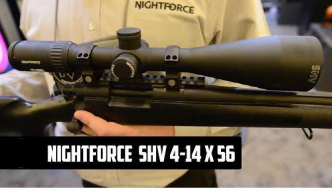 NIGHTFORCE SHV 4-14X56 IHR .250 SCOPE