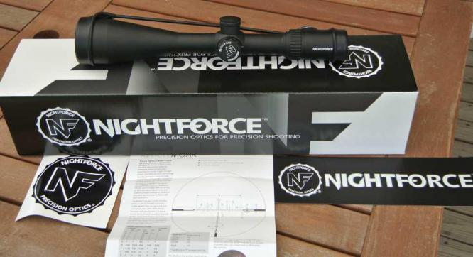 NIGHTFORCE SHV 4-14X56 IHR .250 SCOPE
