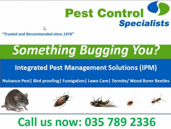 Pest Control Specialists - Zululand