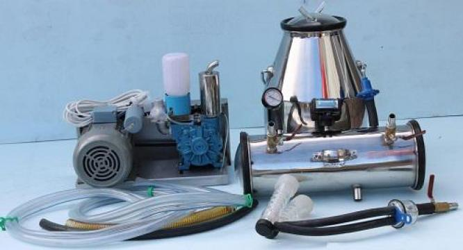 Single Kit Set Electric Milking Unit, Single Cluster