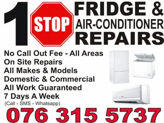 1 Stop Fridge, Freezer & Aircon Repairs