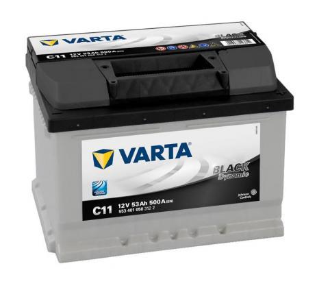 Varta C11 / 628 12v 53ah Car Battery - Maiden Electronics Battery Fitment Centre R1254.00 in Kyalami, Gauteng