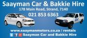 Car, Bakkie, Kombi, 4x4 and trailer hire