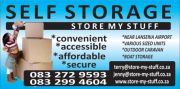 Store My Stuff - Self Storage Solutions