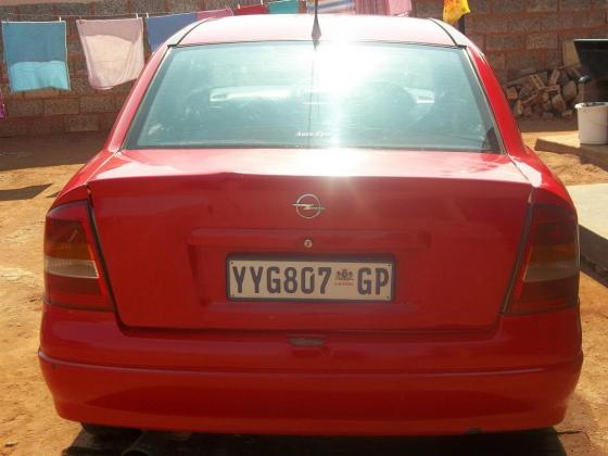 2001 Opel Astra G sedan stripping 4 spares