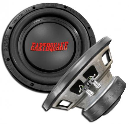 2X EarthQuake DBEXtreme 12inch DVC Subwoofers in enclosre for sale