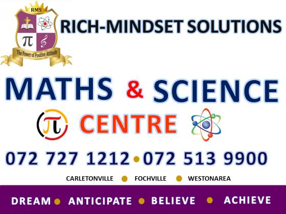 Maths, Maths Lit, Physical Science