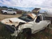 accident damaged BT-50