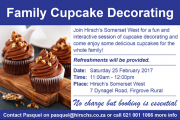 Family Cupcake Decorating at Hirsch's Somerset West