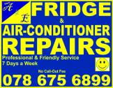 Fridge, Freezer & Aircon Repairs