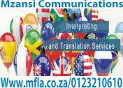 Interpreting and translation services
