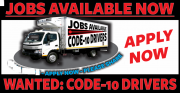 Permanent Driving Position + Code 10 Valid License