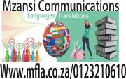 Professional document translation services