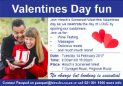 Valentine's day at Hirsch's Somerset West
