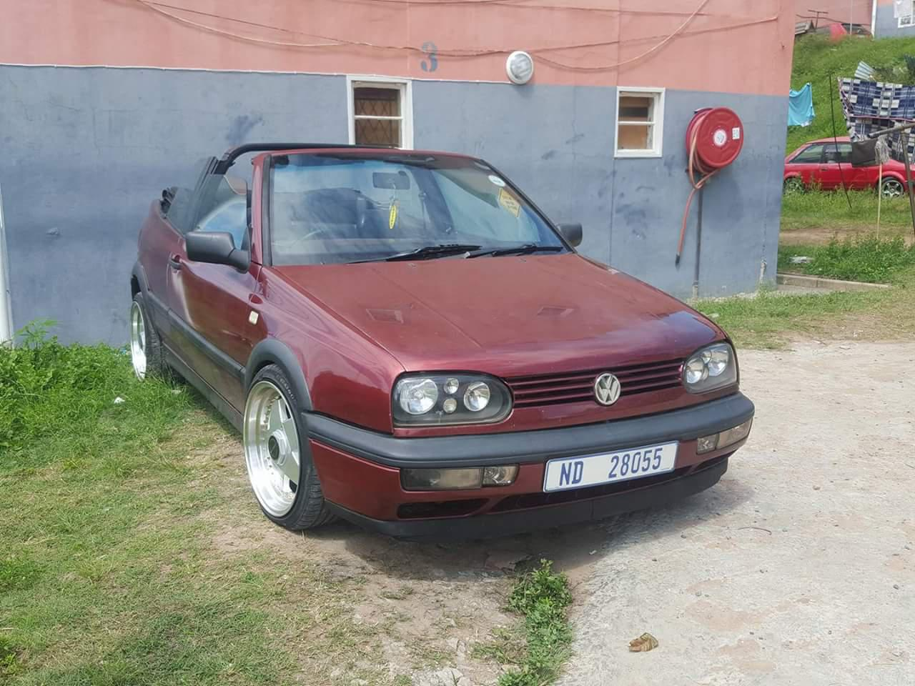 urgent sale golf 3 cabriolet durban public ads cars. Black Bedroom Furniture Sets. Home Design Ideas