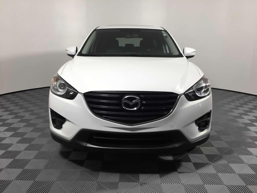 2015 year model mazda cx 5 sport in white colour. Black Bedroom Furniture Sets. Home Design Ideas