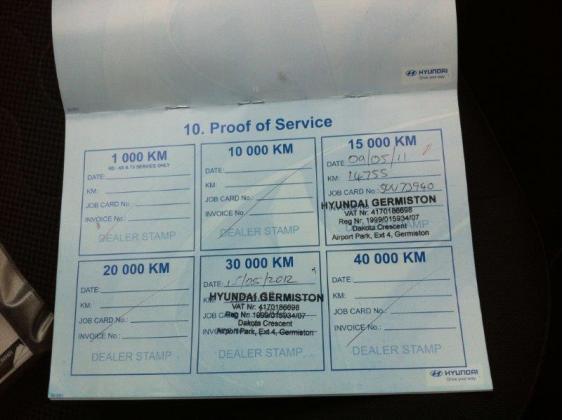 2010 Hyundai i20 Hatchback manual in Midrand, Gauteng