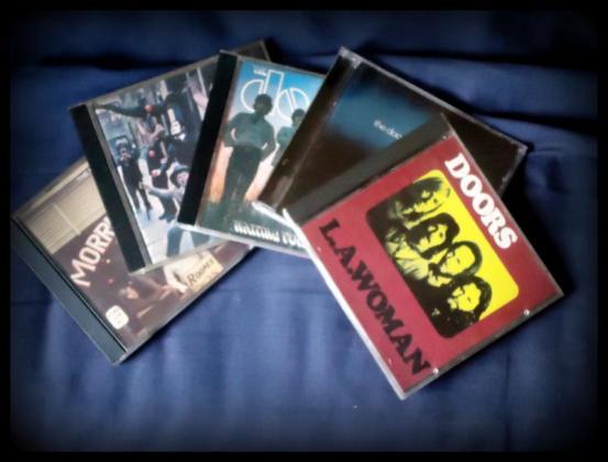 5 The Doors cd's