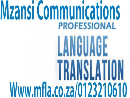 Document translation and interpreting services
