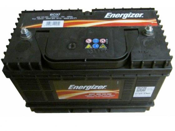 Energiser 12v 105Ah Ec37 High Cycle Battery w/Stud Terminals in Johannesburg, Gauteng