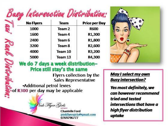 Flyer Distribution