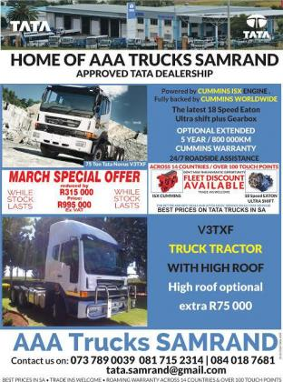 75 Ton Tata Novus V3TXF in Midrand, Gauteng