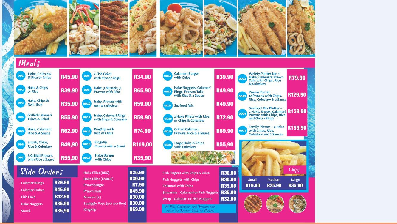 Seafood takeaway / restaurant for sale | Pinetown | Public Ads Services