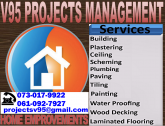 Painting Building/ Bricklaying, Plastering, Paving, Tiling, Laminated Flooring