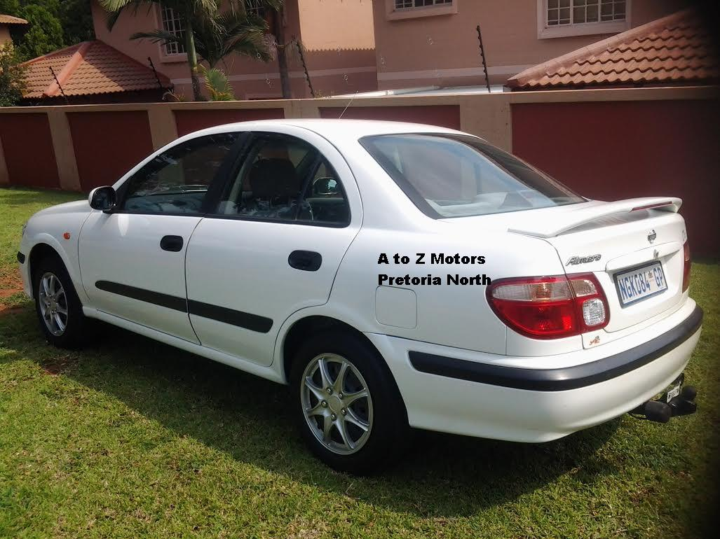 2002 nissan almera 1 8 luxury pretoria north public ads south africa. Black Bedroom Furniture Sets. Home Design Ideas