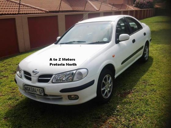 2002 Nissan Almera 1.8 Luxury