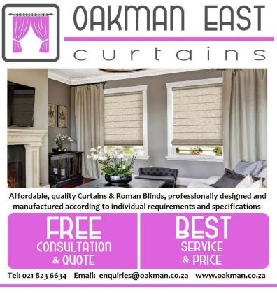Quality custom made Curtains, rails and Blinds