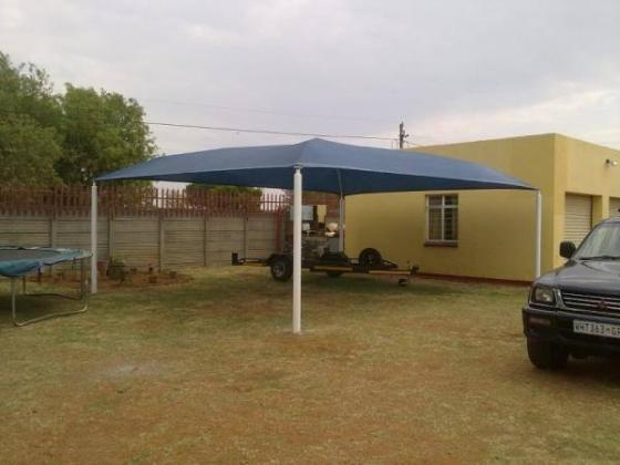 Shadeports for sale, Gauteng Shadeports installation