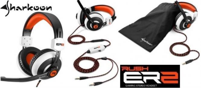 Sharkoon Rush ER2 Circumaural Stereo Headset with Microphone