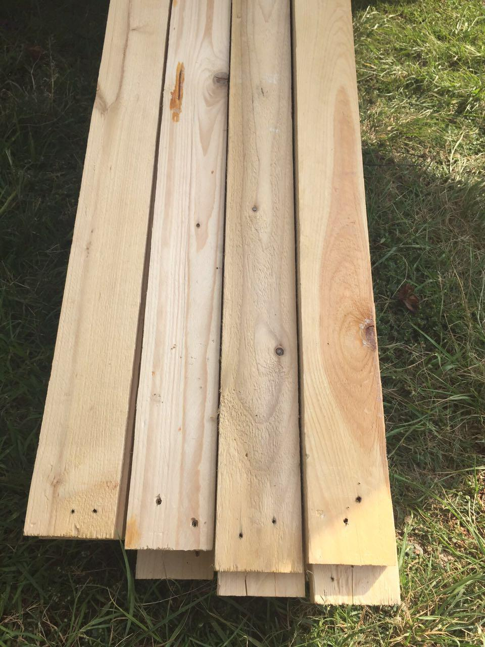 Pallet wood planks for sale ideal for furniture fencing for Garden decking for sale
