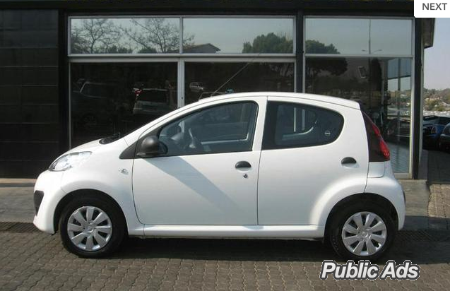 2014 peugeot 107 1 0 trendy sandton public ads cars. Black Bedroom Furniture Sets. Home Design Ideas