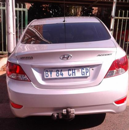 2012 Hyundai Accent 1.6 GLS For Sale Urgently