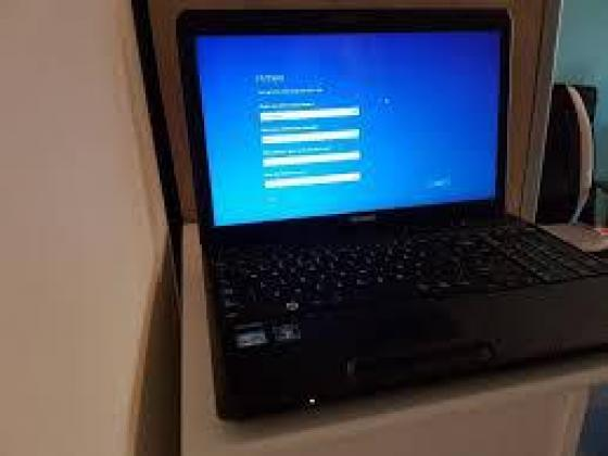 A clean working Satellite Toshiba Laptop with a camera on sale