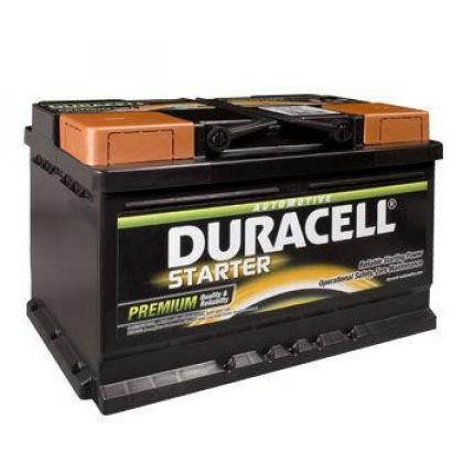 Duracell 652 12v 72ah Car battery - Maiden Electronics Battery Fitment Centre in Kyalami, Gauteng