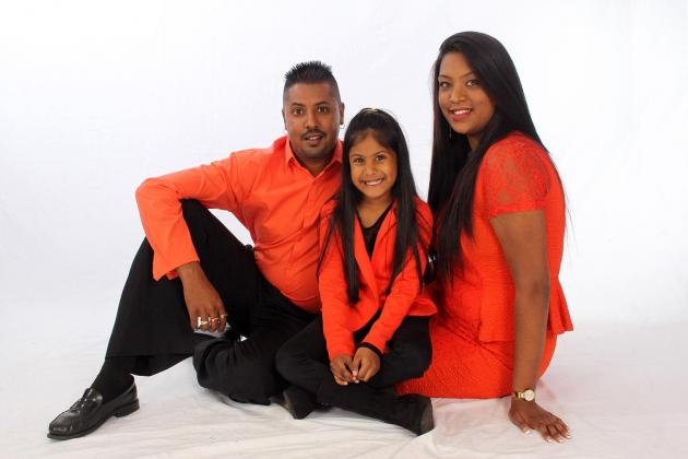 Family Studio Photo Shoot