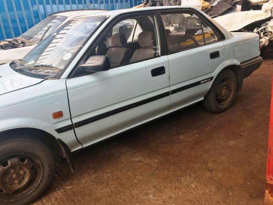 STRIPPING FOR SPARES 1997 Toyota Corolla 1.6 GL sedan