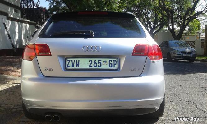 Audi A3 2006 S Line 2.0l turbo
