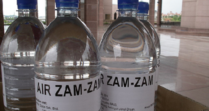 Zam Zam Water cleanses badluck Suleman