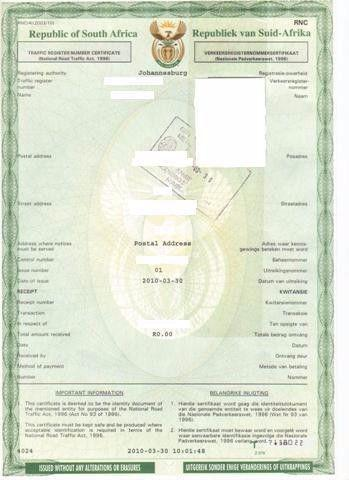 Where Do You Get Car Registration From Dealership