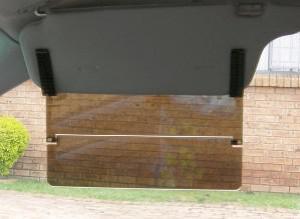 2 x Sunblaster Sun Visor extenders in a set to stop harsh light