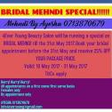 Bridal Mehndi special -Mehndi by Ayesha
