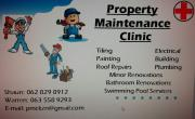 Property Maintenance Clinic - Our primary tool is Quality